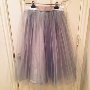 Dresses & Skirts - Blue-grey Full Tulle Ballerina Skirt
